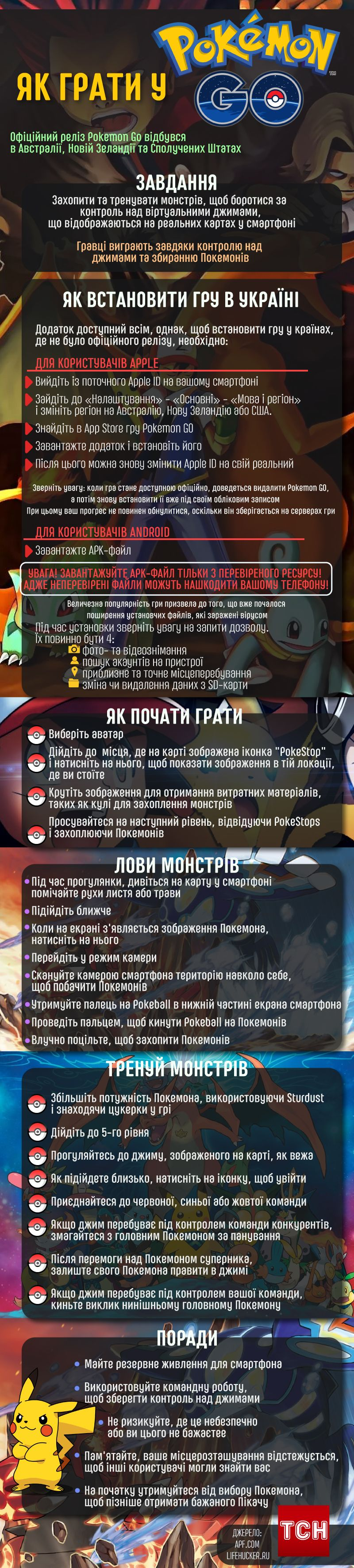 Pokemon GO - Виходь і Лови!