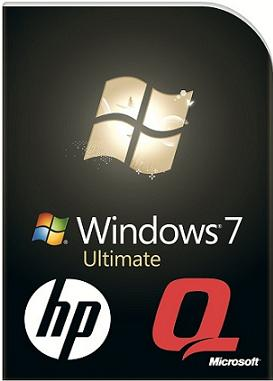 Windows 7 Ultimate HP-Compaq OEM Recovery DVD х86 & х64 : English.